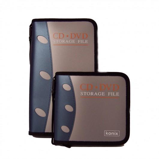 Estuche cremallera 56 CD/DVD
